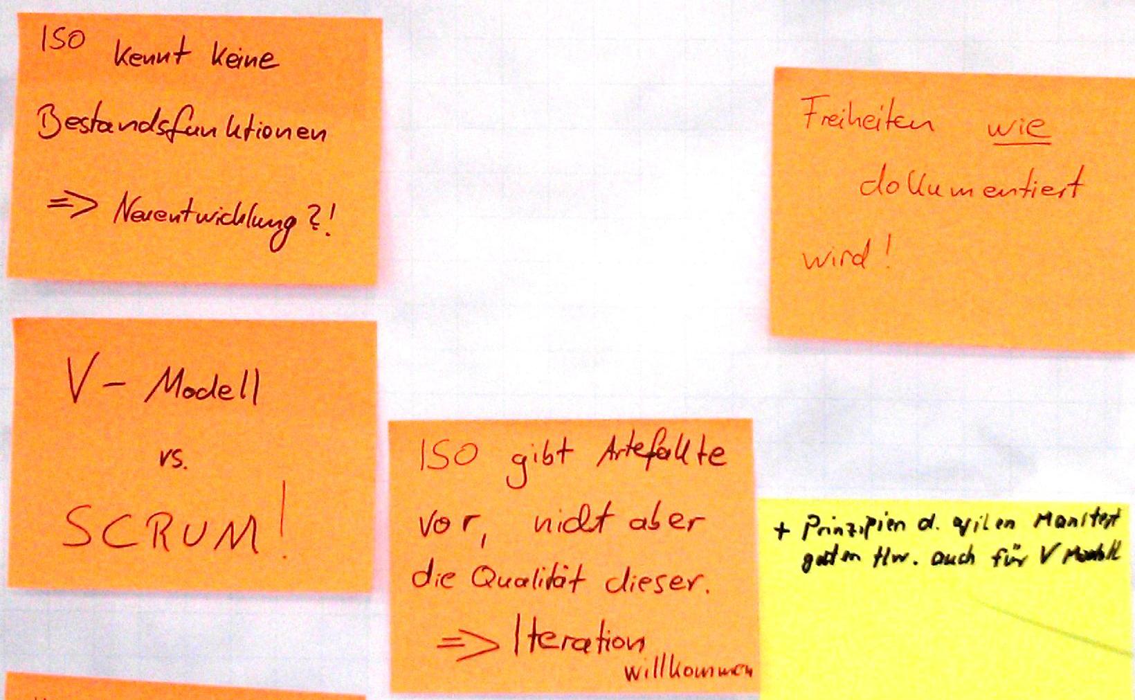 ISO26262/Scrum - Gemeinsamkeiten und Widersprüche