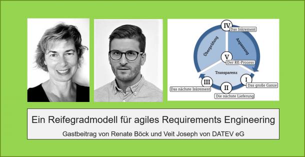 Reifegradmodell für agiles RE von DATEV eG. und HOOD GmbH